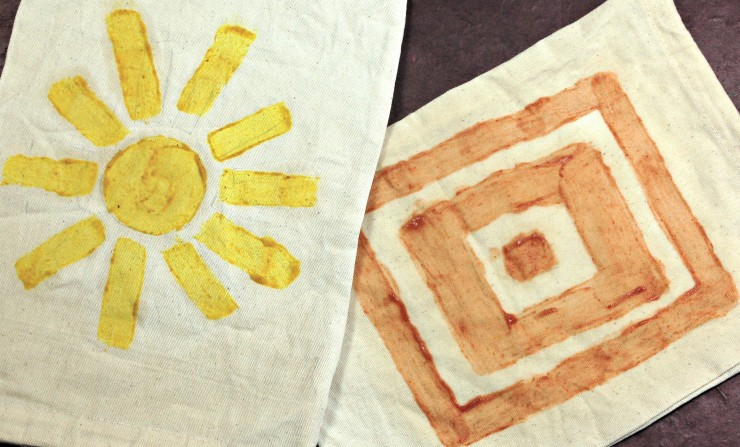 Our fun craft tutorial explores how you can use stains as dye at home. Check out what we tried and what worked best