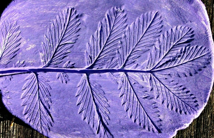Use leaves you have collected to make these beautiful little air dried clay dishes. Great, simple, fun craft for kids.