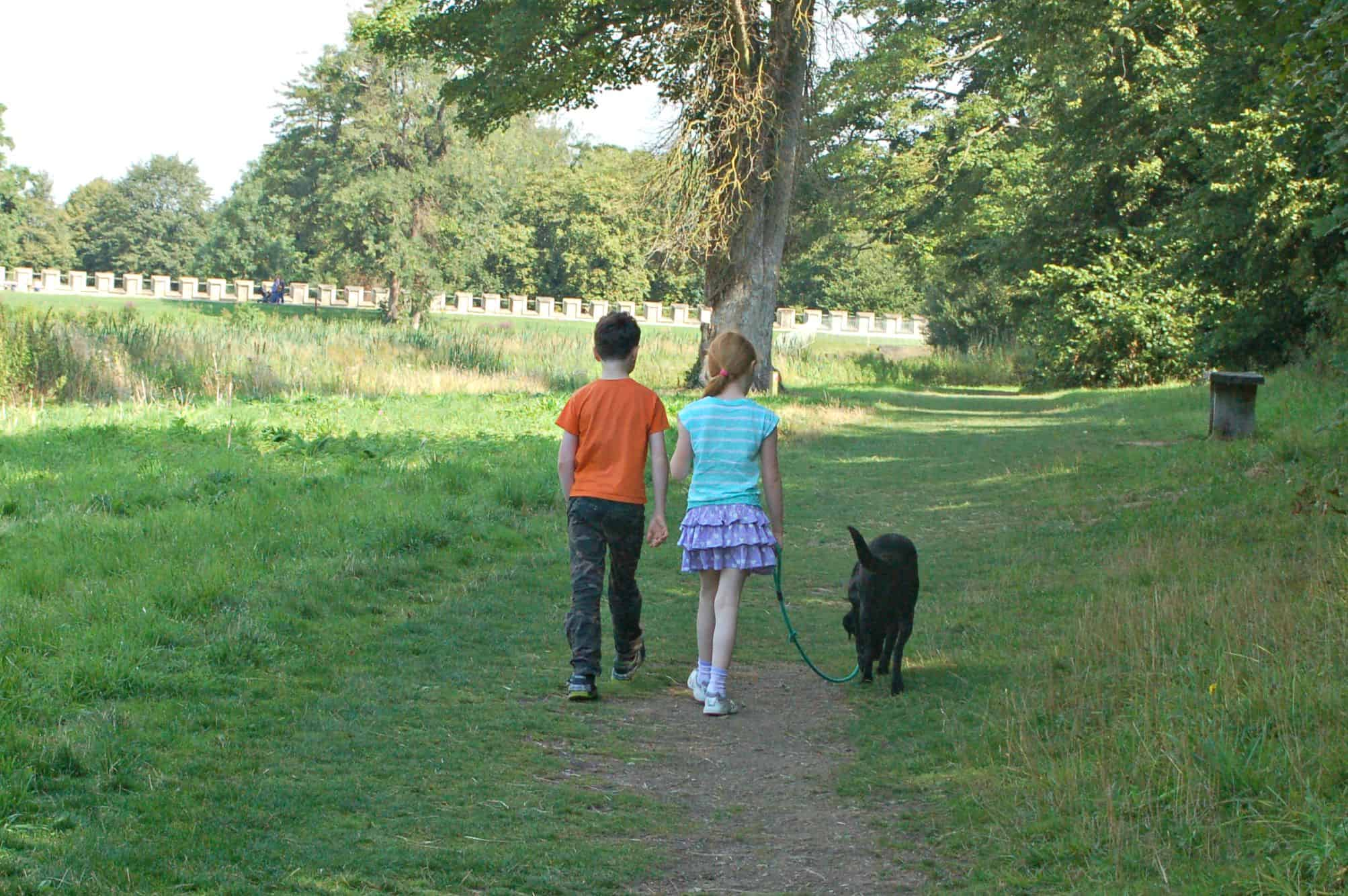 Lydiard Park in Swindon, Wiltshire is very popular with local families, and a really lovely place to spend time. It is the perfect environment for kids to play in and explore; the site is beautifully maintained, and, as the seasons change, there's always something different to see, however many times you have visited before.