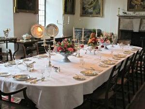 Berkeley castle - Dinning room