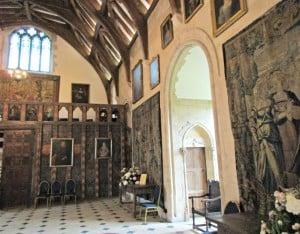 Berkeley castle - Minstral's gallery