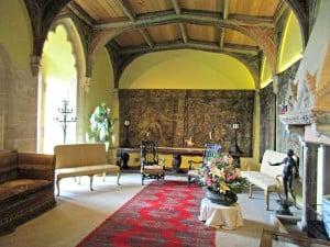 Berkeley castle - beautiful tapestries
