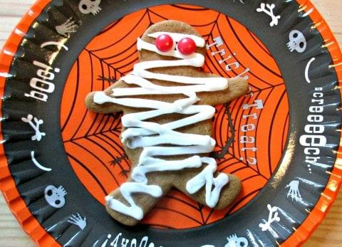 Halloween Gingerbread Cookies and Biscuits