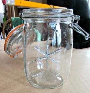 Crystal Stars - jar set-up