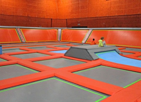 Better Extreme is the brand new trampoline park in Swindon. The 1300 square foot trampoline park has over 100 individual trampolines, with nine fun areas to choose from including dunk hoops and extreme dodgeball