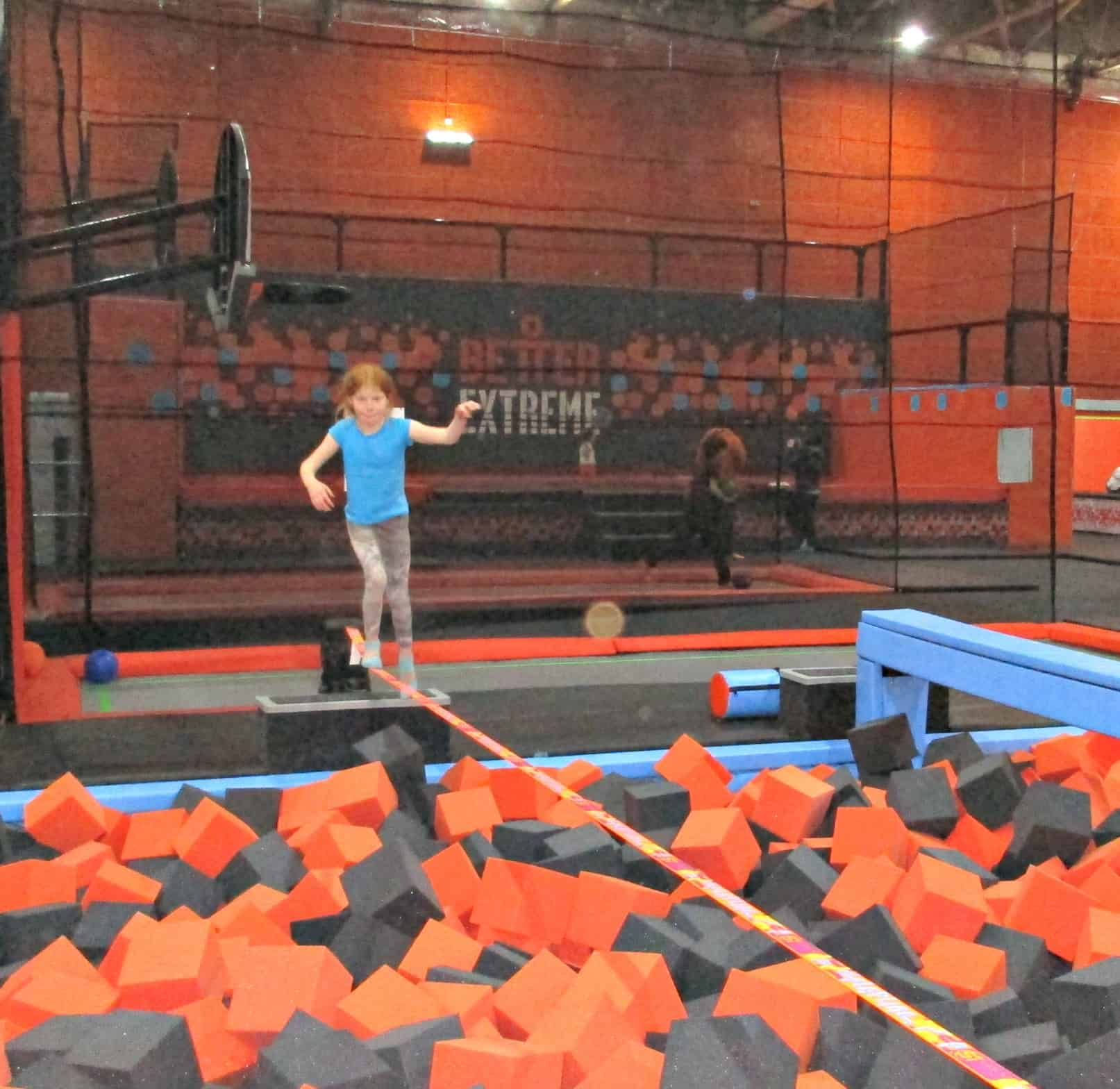 Better Extreme is a fabulous 1300 square foot trampoline park in Swindon with over 100 individual trampolines, and nine fun areas to choose from including dunk hoops and extreme dodge-ball.