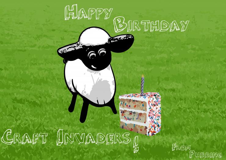 Happy Birthday Craft Invaders