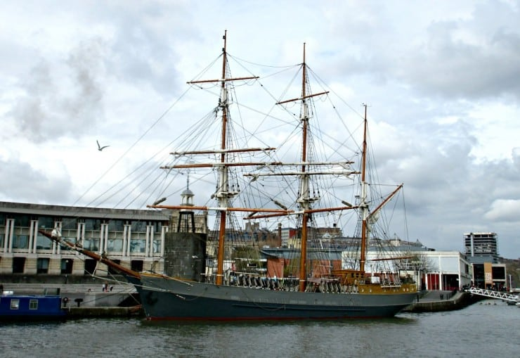 Ship at Bristol Harbour
