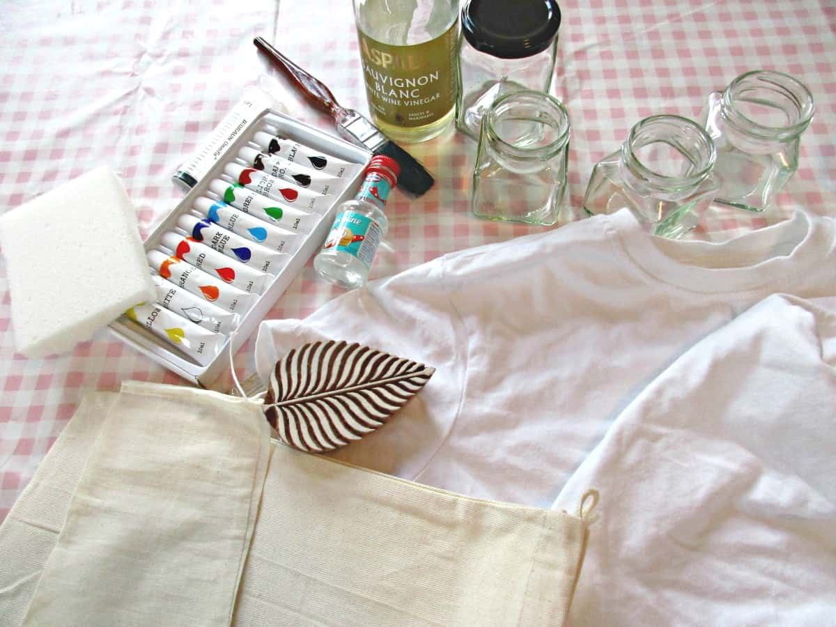 In this tutorial we experimented with making our own diy fabric paints from acrylic paint by adding a couple of household ingredients, and came out with fabric paints that not only look fabulous, but are also washable - and we didn't even need to set them with heat!