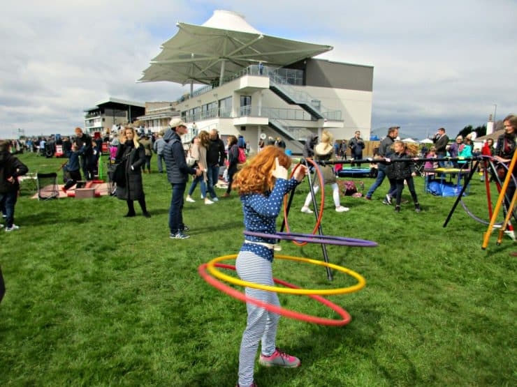 We had a fabulous family day out at Bath Racecourse enjoying circus skills, pony rides and much more