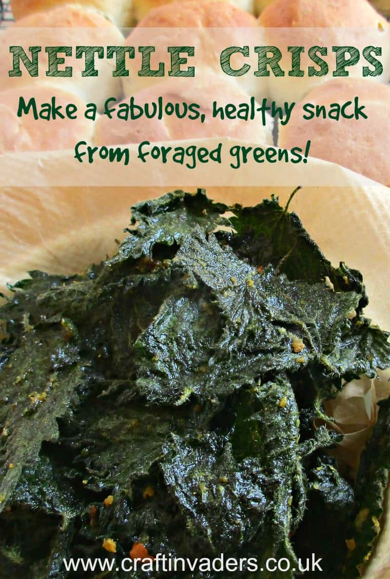 Today I am sharing my favourite stinging nettle recipe - Nettle Crisps. They are cheap and simple to make, delicious and incredibly healthy!