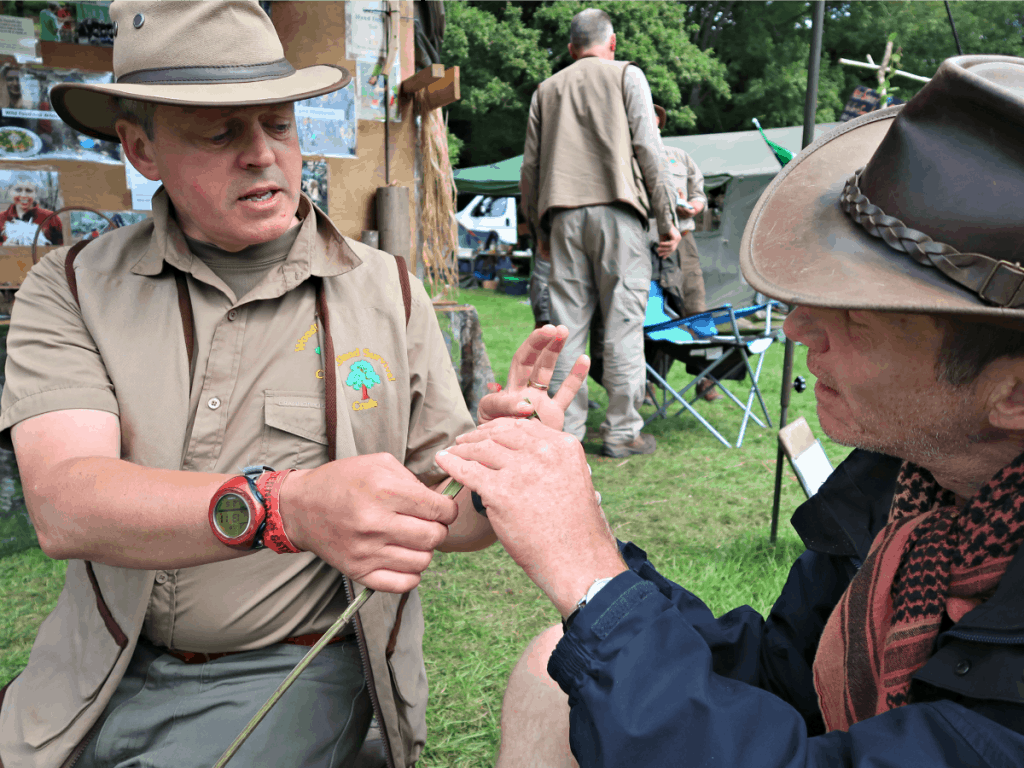 The Wilderness Gathering is the oldest running bushcraft festival in the UK. Set in the stunning Wiltshire countryside, the festival really is a gathering of some of the most knowledgeable and skilled bushcraftsman from both the UK and further afield.