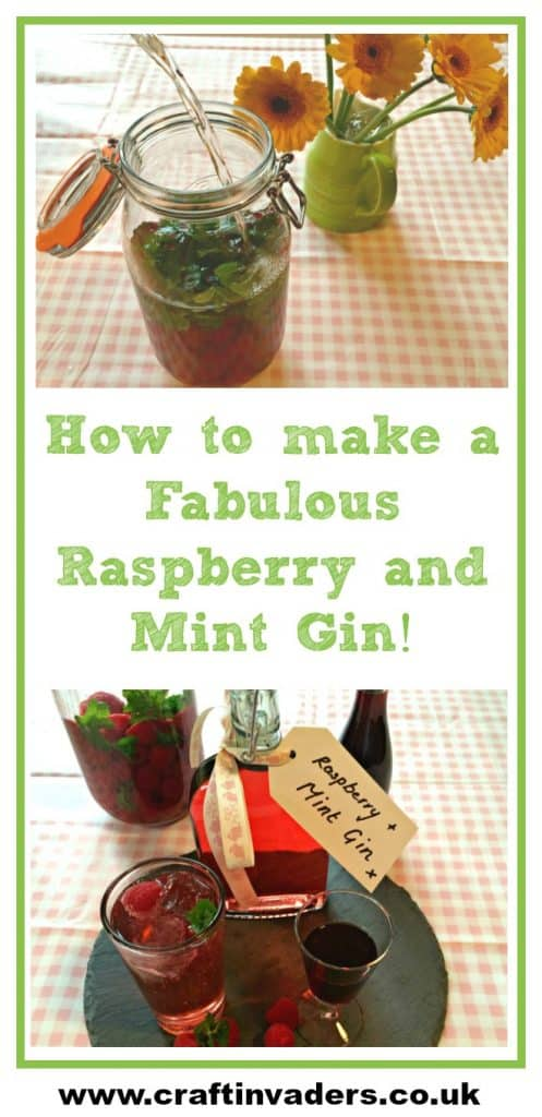 Fruit Spirits are super easy, super yummy and make great presents - this Raspberry Mint Gin is by far the most popular one I make, it really is delicious!