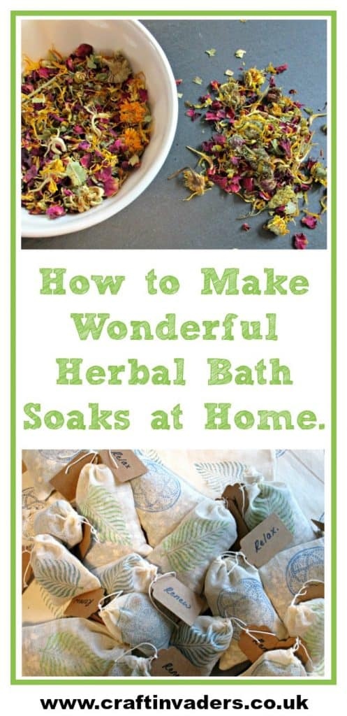 These wonderful herbal bath soaks are great fun to make, fabulous for your health and well-being and can be tailored to suit the recipient.