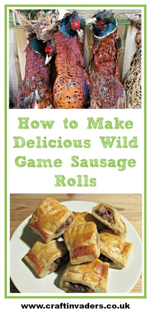 Hunter sausage rolls is a great recipe for introducing kids to cooking with wild game meats. Super easy to make, game is great value for money and has high nutritional value.