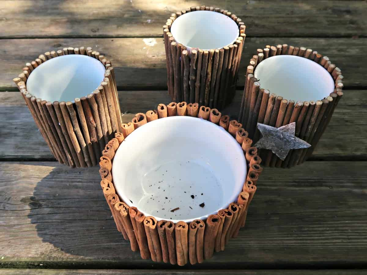 Wondering what to do with the old coffee cups stuck in the back of your cupboard? Here's an easy craft idea to repurpose broken mugs into cute planters.