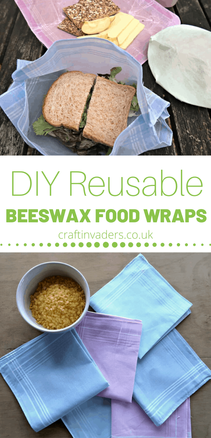 Home-made, reusable beeswax food wraps are super easy to make at home and are a great way to reduce the amount of single-use plastic you use.