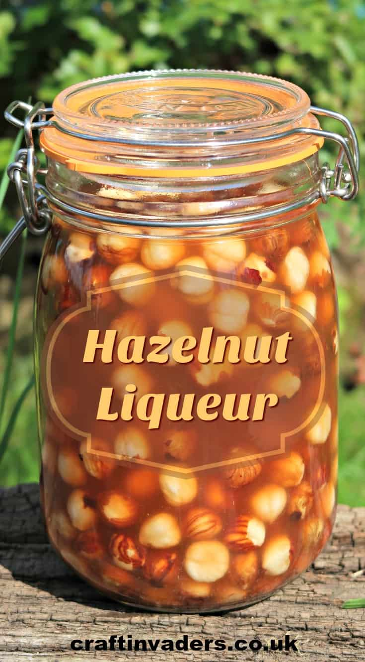 This simple hazelnut liqueur recipe only takes minutes to prepare but results in a deliciously rich and smooth nut flavoured liqueur that is perfect for gifting.